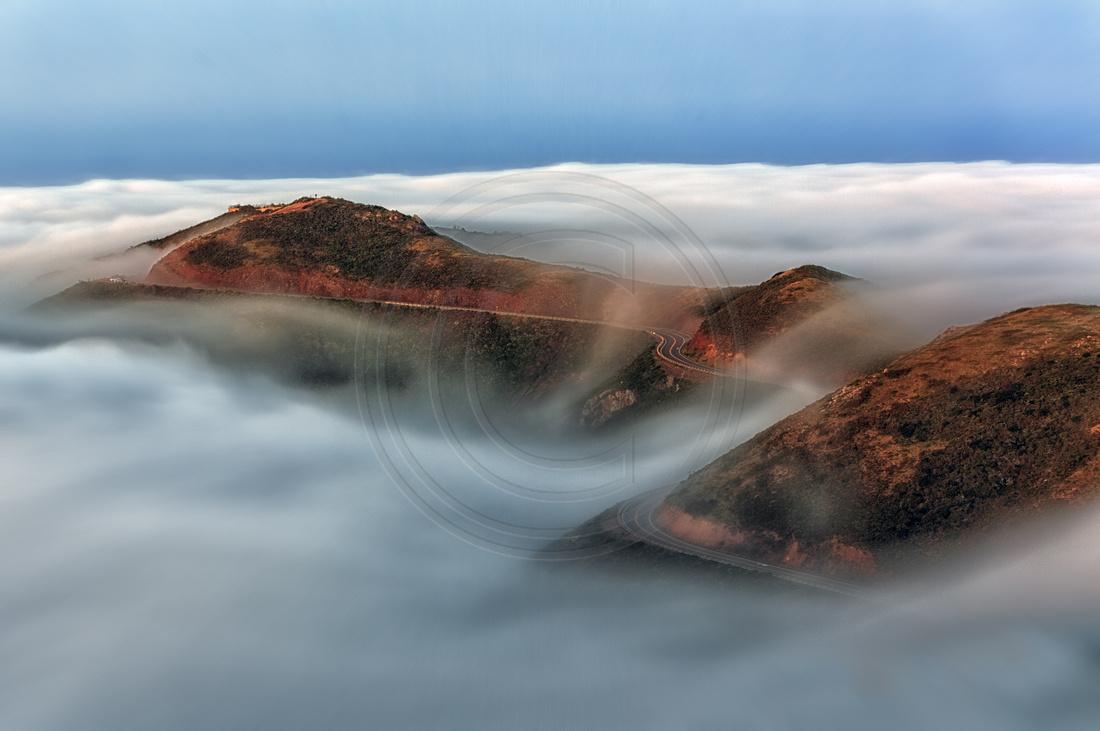 San Francsico; 5D mark III, Canon EOS 5D, Golden Gate, Hawk Hill, Marin Headlands, San Francisco,