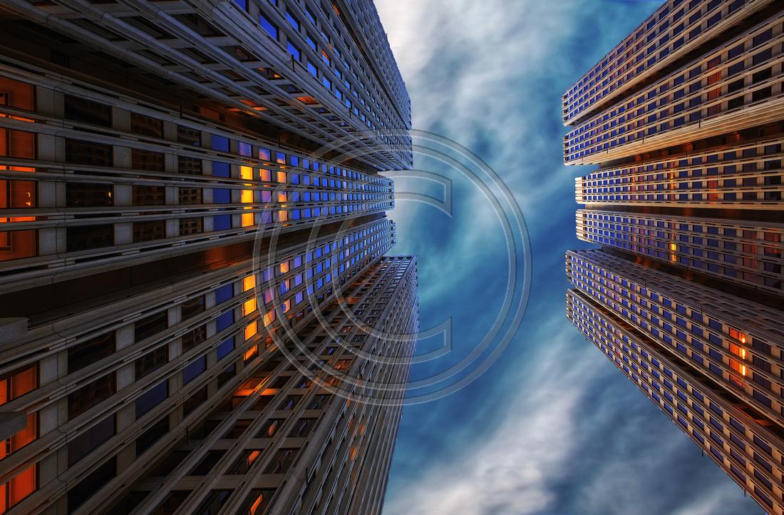 Skyscrapers Embarcadero Center San Francisco