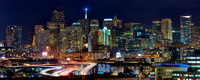 San Francisco Cityscape : Holiday Lights