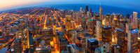 Chicago from Top : Dusk