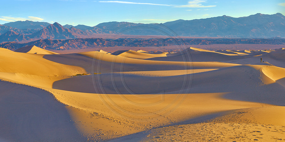 Dunes of Death Valley, California