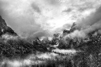 WInter Storm: Yosemite national Park